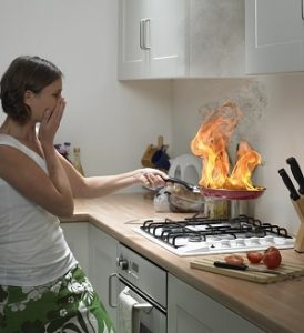 Beware of These 4 Flammable Kitchen Items