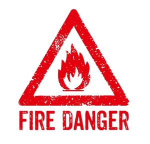 commercial building fires and fire danger