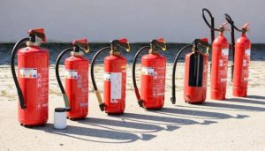 how many fire extinguishers